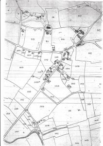 Old Map of Credenhill